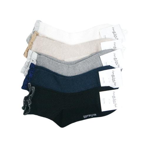 국산 여성용 레이스 발목 패션양말